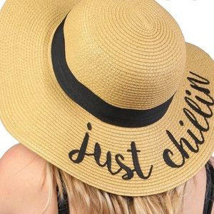 🌼C.C. EMBROIDERED SUN HAT